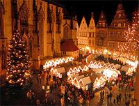 St. Matthias Bruderschaft besucht Weihnachtsmärkte in Münster