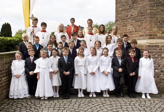 Erstkommunion an St. Cäcilia Niederzier