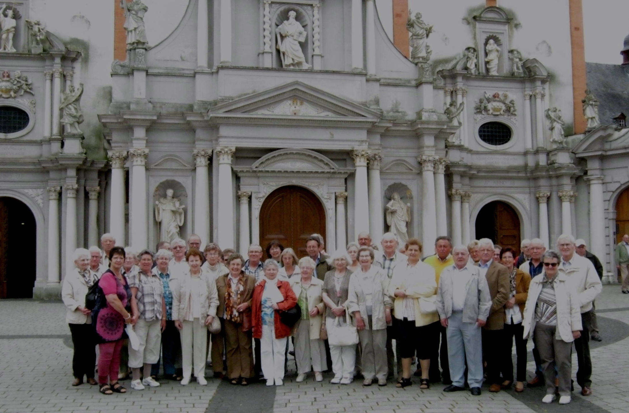 Harmonische Trierwallfahrt der St. Matthias Bruderschaft Niederzier/Oberzier