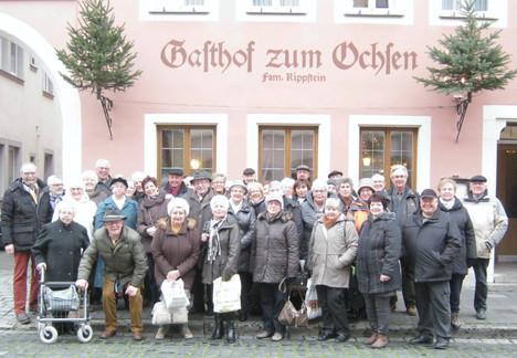 Rothenburg ob der Tauber im Advent