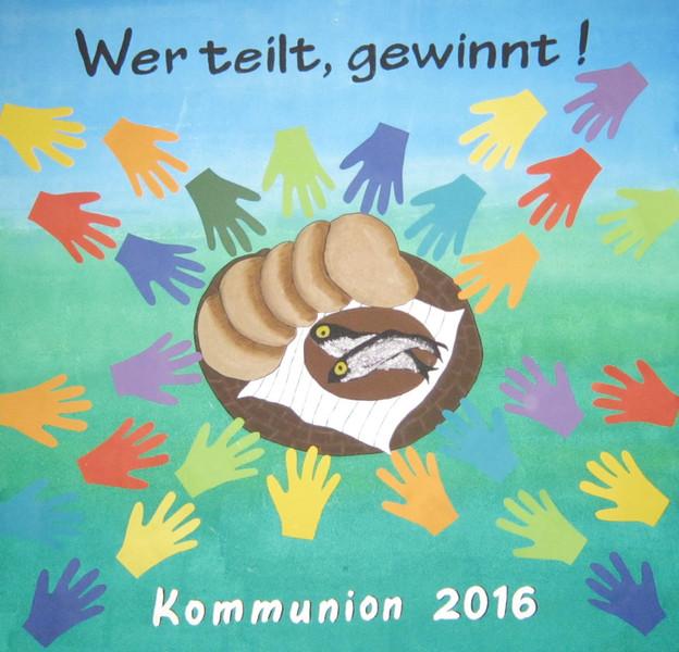 Unsere Erstkommunionkinder 2016 stellten sich vor