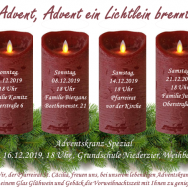 Start in den *Lebendigen Adventskranz 2019*